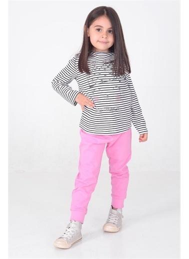 Silversun Kids Kız Çocuk Baskılı Pijama Takım - !Pjm 212969 Siyah